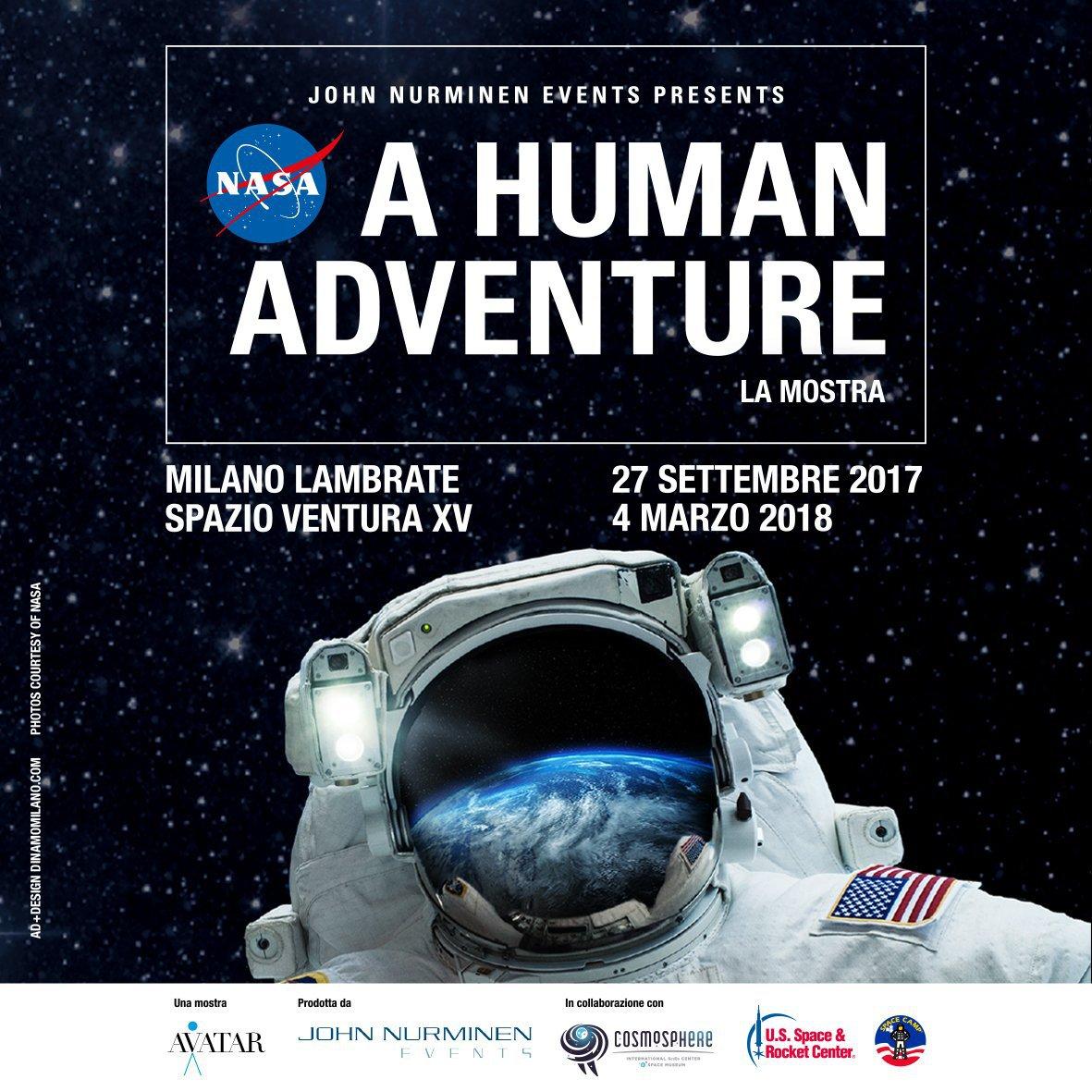 Milano la mostra nasa a human adventure per sognare for Mostra nasa