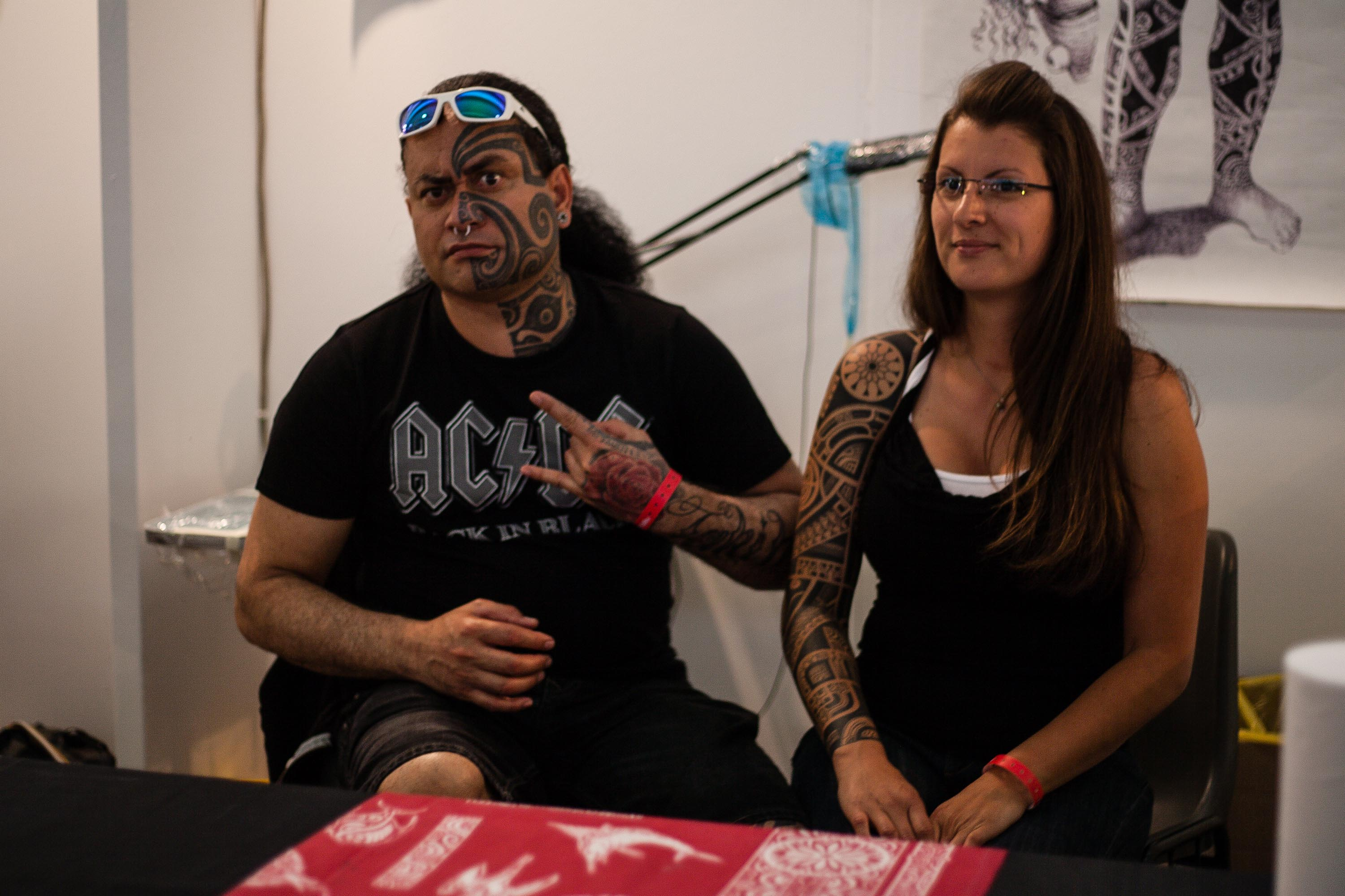 L arte dei tatuaggi all International Tattoo Fest di Napoli  Video  803f4ef7f09